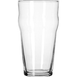 Libbey Glassware (14806HT) - 16 oz English Pub Glass - Heat Treated