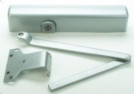 - LCN 1461-AL Door Closer with Rw/62PA Shoe (required for parallel arm mounting), Aluminum Powder Coat Finish