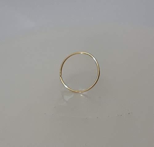 Nose Rings,thin nose rings,gold nose rings,nose rings 24gauge,tiny nose rings,nose rings hoop,nose piercing,piercing hoop ()