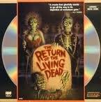 The Return Of The Living Dead LASERDISC (Full Screen Format)