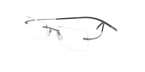 Silhouette TMA Icon 7579/60 Eyeglasses 6061 Silver 51MM