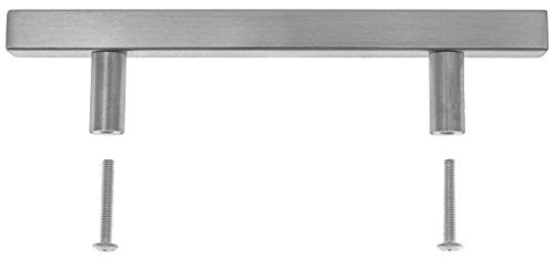 Pandora - Square Pull Bar Handle Stainless Steel For Drawer Kitchen Cabinet Hardware - 20 inch by Pandora Hardware (Image #2)