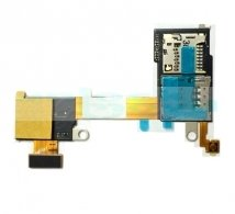 Fologar Flex Lector Tarjeta Sim y Micro SD Para Sony Xperia M2 D2303 D2305 D2306