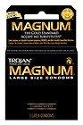 TROJAN MAGNUM Condoms Large Lubricated Latex 3 Each (Pack of - Latex Lubricated Magnum Condoms