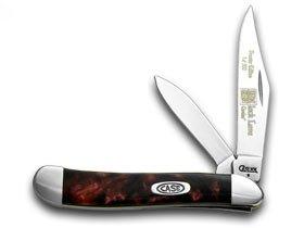 CASE XX schwarz schwarz schwarz Lava Genuine Corelon Peanut 1 500 Pocket Knife Knives B0040RGB8O Taschenmesser Sehr gute Farbe 955729