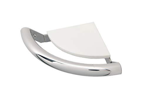 Life Line Corner Shelf Grab Bar (Stainless Steel)