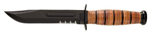 KA-BAR US Army Fighting/Utility Knife Serrated Edge, Outdoor Stuffs