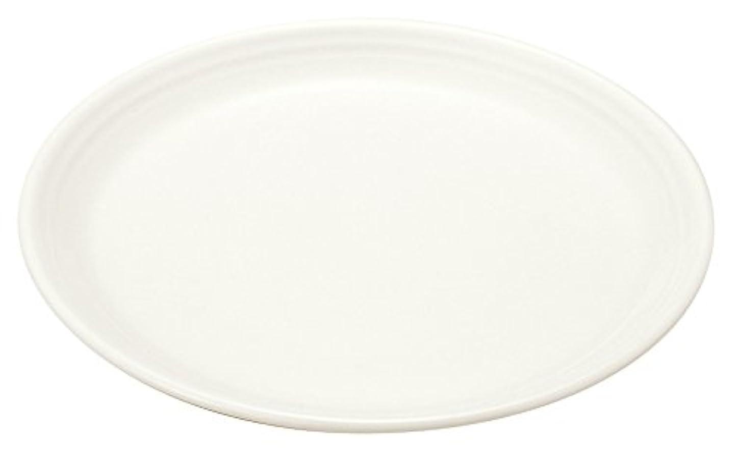 少ない習熟度服を着る【白い食器】われにくい強化磁器 ティアラ tiara ピュアホワイト フリル サラダプレート スーププレート カレー パスタ皿 23cm