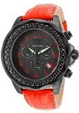 Invicta Grand Diver Chronograph Black Dial Red Leather Mens Watch 14926 (Invicta Grand Diver Chronograph)
