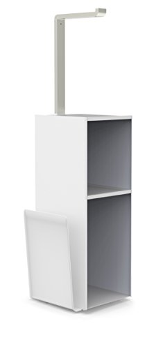 Toilet Valet - Better Living Products 53656 NUVO Toilet Valet with Magazine Rack