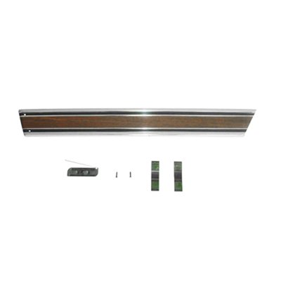Goodmark Lower Rear Truck Bedside Molding for 1971-1972 Chevrolet (Pickup Bedside Molding)