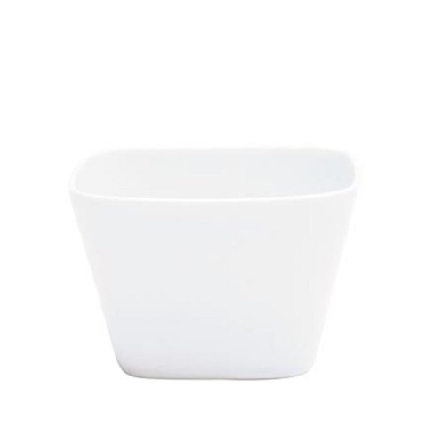 KAHLA Abra Cadabra Small Dish Angular 2-1/4 by 2-1/4 Inches, White Color, 1 Piece