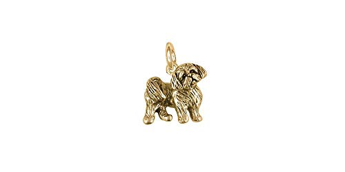 Shih Tzu Jewelry 14k Gold...