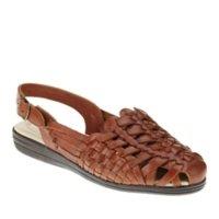 Softspots Women's Tobago Rust Tan Sandal 8 M (B)