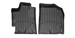 WeatherTech Custom Fit Front FloorLiner for Toyota Highlander (Black) (Weathertech Floor Mat Toyota compare prices)