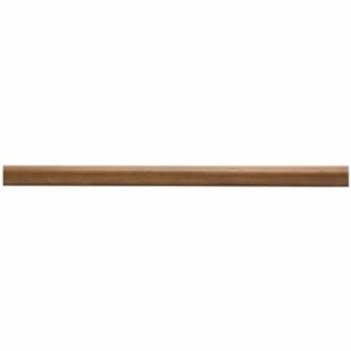 8' Smooth Wood Rod - Kirsch Wood Trends 1 3/8 Inch Smooth Wood Poles: Estate Oak 8 Ft
