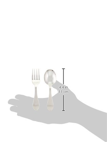 Reed & Barton 5930 2-piece Pointed Antique Sterling Baby Flatware Set by Reed & Barton (Image #1)