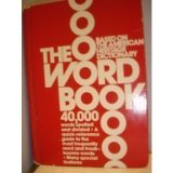 The Word Book, American Heritage Publishing Staff, 0395245214