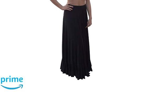 Menkes Falda Baile Flamenco Viscosa de Peso Mujer Talla S: Amazon ...