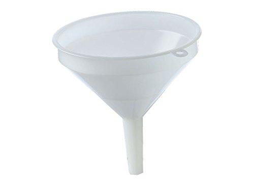 Funnel - 15 cm (6 in) - White Plastic
