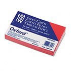 UPC 999992649444, Oxford 7320CHE - Unruled Index Cards, 3 x 5, Cherry, 100/Pack-ESS7320CHE