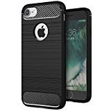 iphone 7 Case,Made with Premium TPU,Good heat dissipation,Don't leave fingerprins,iphone 7 4.7 inch (Black) (Black) (Wireless Phone Accessory)