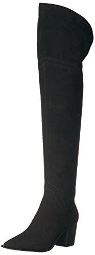 Aldo Women's Olena Riding Boot, Black Nubuck, 7 B US by Aldo
