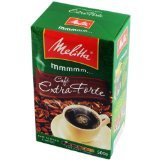 Melitta Extra Strong Roasted Coffee - 17.6 oz | Café Extra-Forte Melitta - 500g - (PACK OF 03)