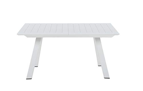 Chintaly Outdoor Aluminum Table w/Butterfly Extension - 63x94