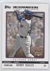 Bobby Scales (Baseball Card) 2009 Topps Ticket To Stardom - [Base] - Perforated #219 (2009 Ticket Topps)