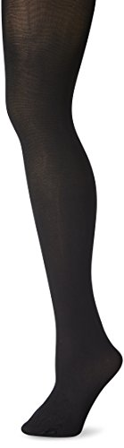 Just My Size Women's Silky Tights Panty Hose, Black, 4X - Microfiber Plus Size Tights