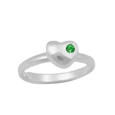 Sterling Silver Simulated Birthstone Adjustable product image