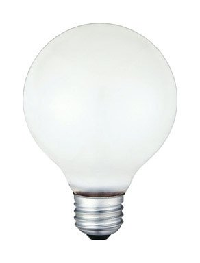 Westinghouse 05103 G25 Incandescent Light Bulb, 40 Watts, 12/Pack>