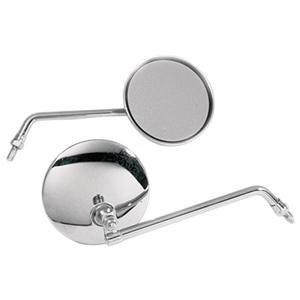 Chrome Emgo 8mm Universal Round Mirror
