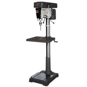 - JET J-2550 20-Inch 1-Horsepower 115-Volt Single Phase Floor Model Drill Press