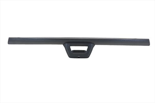 07-13 Escalade EXT Avalanche Rear End Tail Gate Spoiler Molding Black OEM NEW