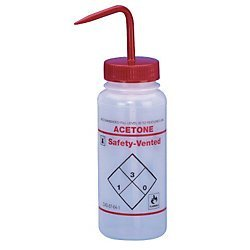 Solvent Venting Wash Bottle Acetone 500mL product image