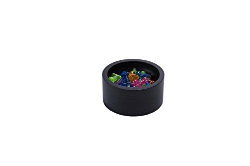 Black Round Paper Clip Holder Black Wood Paper Clip Holder