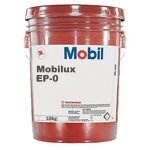 Mobilux EP 0 Grease - 5 Gallon Pail Mobil lubricant 35lb Bucket