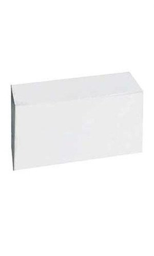 Count of 50 New pc-13149-618 White Gift Boxes 12''L x 6''W x 6''D