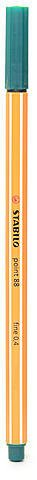 Stabilo Point 88 Fineliner Pens Pack of 10 Pine Green