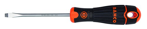 Bahco BAHCOFIT Screwdriver Slotted Flared Tip 10 x 1.6 x (Flared Slotted Screwdriver)
