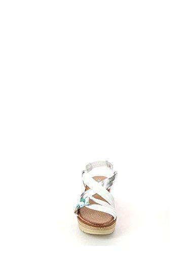 Donna Sandalo Coco Bianco P Sa1593 Grunland wxFEpCqt
