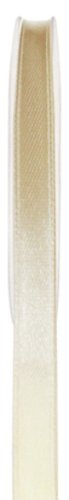 Schleifenband 50m x 3mm ELFENBEIN creme SATINBAND Geschenkband DEKOBAND