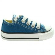 Converse Chuck Taylor All Star, Zapatillas de Lona Infantil Azul (A Blue)