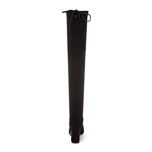 Balamasa Femme Sandales Compensées Abm13560 Noir wSa0Xqpx