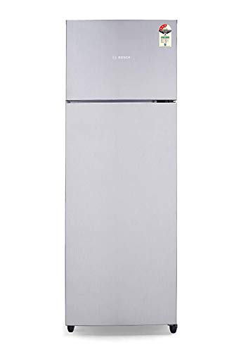 Bosch 288 L 3 Star Inverter Frost Free Double Door Refrigerator  KDN30UL30I, Mettalic