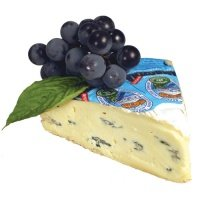 Cambozola Triple Cream Blue Veined Cheese 5 Pound Wheel (2 pack) by Kaseri Champignon (Image #2)