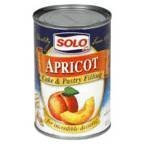Solo Cake & Pastry Filling Apricot 12 OZ (Pack of 24) by Unknown