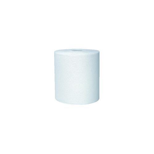 - Kimberly-Clark 11090 White KLEENEX Hard Roll Towel, 8